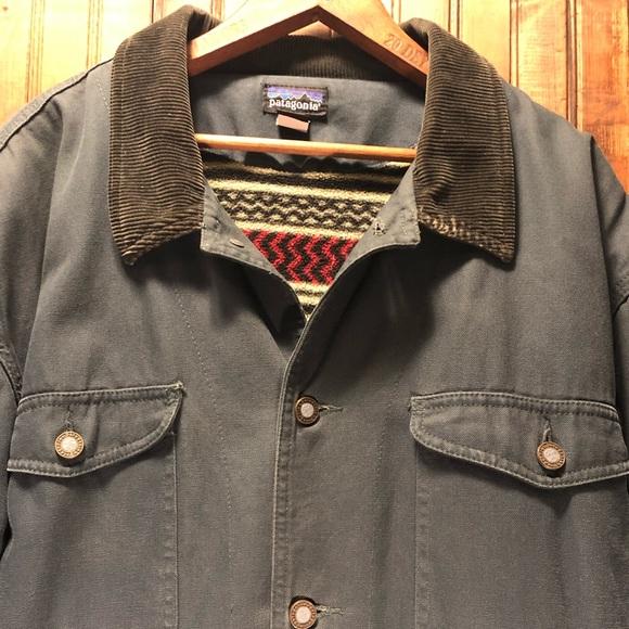Patagonia Jackets Amp Coats Vguc Mens Canvas Barn Coat Xl